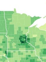 High Income County Minnesota